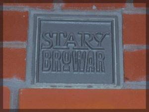 tabliczka STARY BROWAR