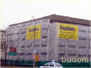 nowoczesna kamienica podczas wznoszenia przez firmę budom firma budowlana