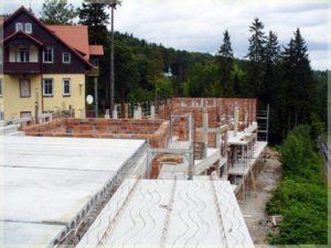 widok naplac budowy