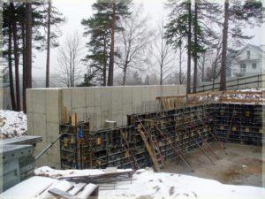 budowa elementów nośnych hotelu