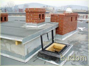 dach nowej kamienicy