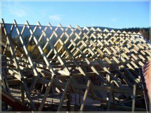 drewniane konstrukcje poddach