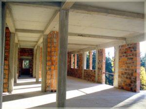 korytarz przedwykończeniem