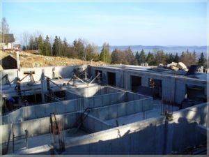 pierwsze etapy budowy