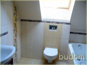 wykończenie łazienki zluftem