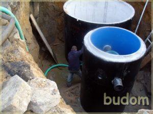 prace przy zbiornikach