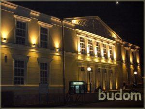 iluminacja nocna fasady