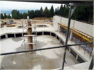 widok naplac budowy hotelu