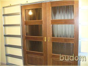 drzwi drewniane dwuskrzydłowe wewnętrzne
