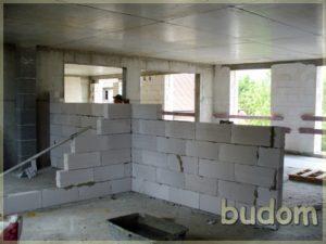 stawianie ścian działowych wbudynku