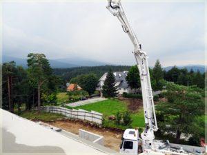 wylewanie betonu nawysokie kondygnacje