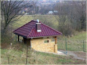 budowla przy Pensjonacie wSzklarskiej Porębie