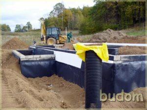 fundamenty nowej budowli