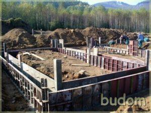 wylewanie fundamentów podbudynek mieszkalny