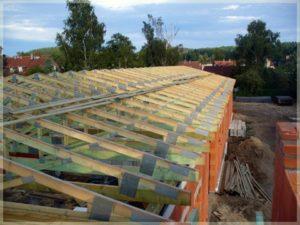 konstrukcje wspornicze nowego budynku