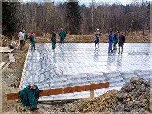 przygotowywanie placu budowy