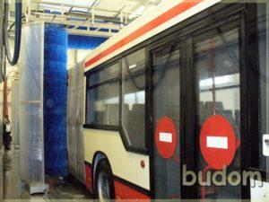 szczotki myjące autobus