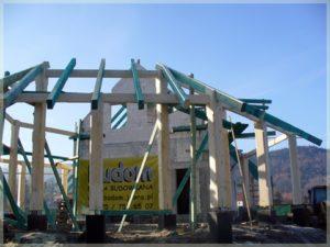 konstrukcje nośne iwspornicze naplacu budowy