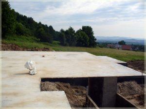 budowa fundamentów podnowoczesny budynek