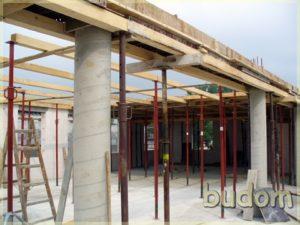 kolumny ipoczatkowe konstrukcje wspornicze stropu