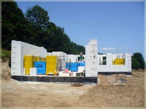 budowa fundamentów iścian nośnych