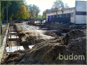 poczatki prac budowlanych