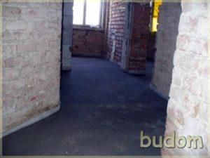 korytarz wremontowanym budynku