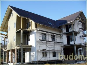 pensjonat hotel wtrakcie budowy